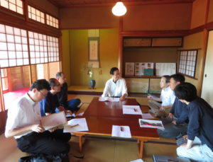 「東山荘」第7回ワークショップを開催